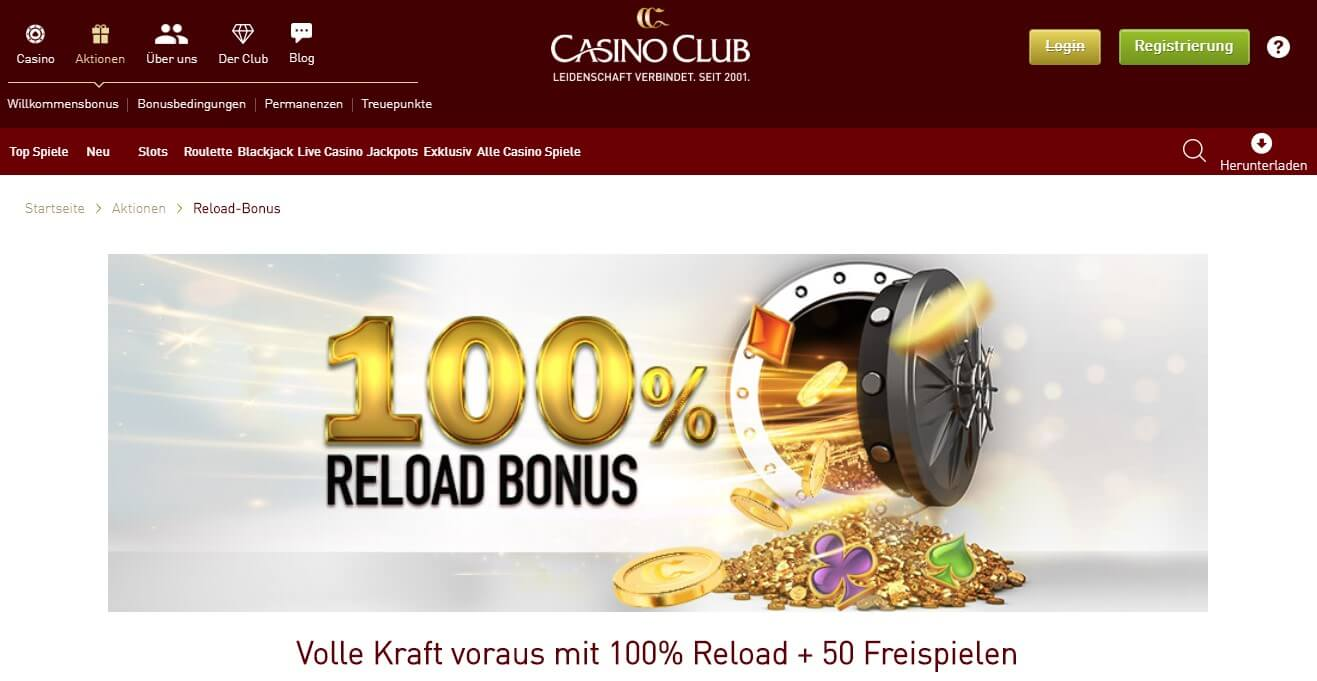 CasinoClub Bonus