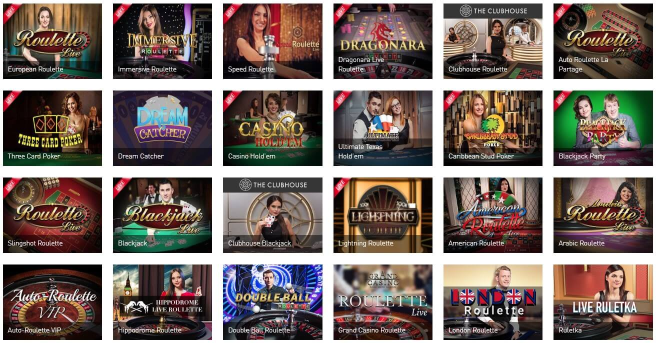 CasinoClub Live Casino